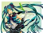 Sailor Miku by Cientifica