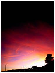 The Last Summer's Sunset by RainbowReflexes