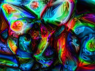 Neon Butterfly by Anafiel