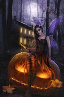 Pumpkin Pixie by lombrascura