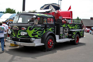 Rat Fink's Fire Truck by indigohippie