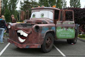 Tow Mater by indigohippie