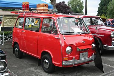 1970 Subaru Van by indigohippie