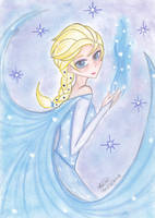 Queen Elsa - Jayson request by Sailor-Aria