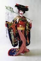 fuji musume by euphorbic