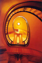 spiral stairs by euphorbic