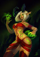 Demon Hunter by Bilkaya