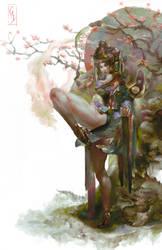 Empress Chun-li by Christian-Angel