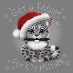 Get a tablet for Christmas! by MonikaZagrobelna