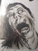 Zombie 1 by aWallflowerPunch