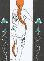Tattooed Lady by LodeinArt