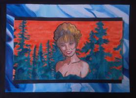 Laura Palmer, Twin Peaks fan-art by LodeinArt