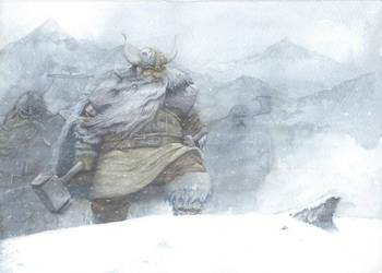 In Dwarves' land by Ozakuya