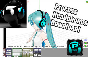 MMD Process39 headphones Download by Process39