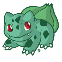 Bulbasaur by Reiterei