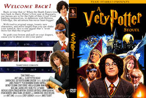 A Very Potter DVD Cover by Reiterei