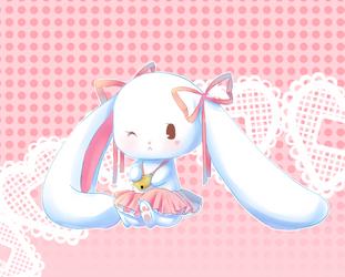 Nanami the Bunny by Nanami-Yukari