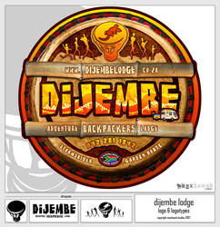 Dijembe Lodge Logotypes by yourTwin