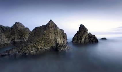 Vrsar coast by boumanners