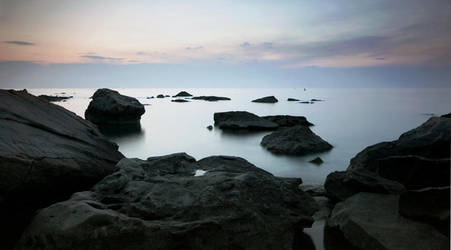 Strunjan coast by boumanners