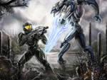 Spartan vs Elite by Gallardose