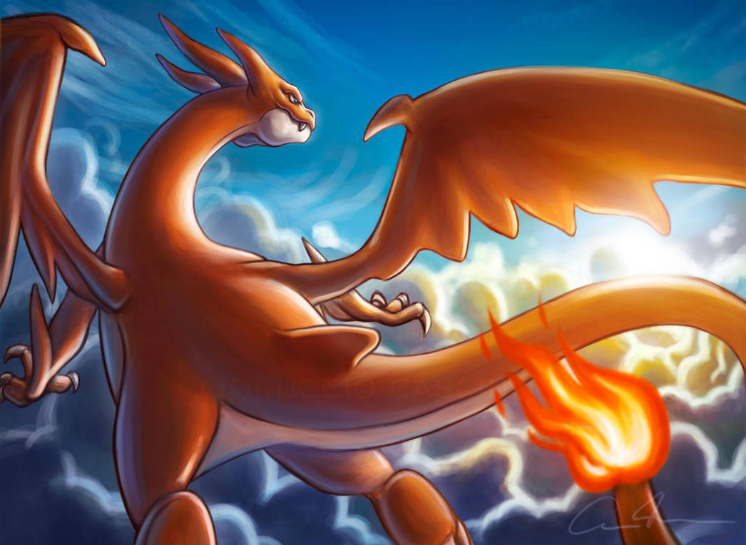 Mega Charizard Y Fanart by Gallardose on DeviantArt