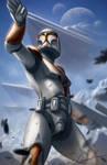 Star Wars Clonetrooper Fanart by Gallardose