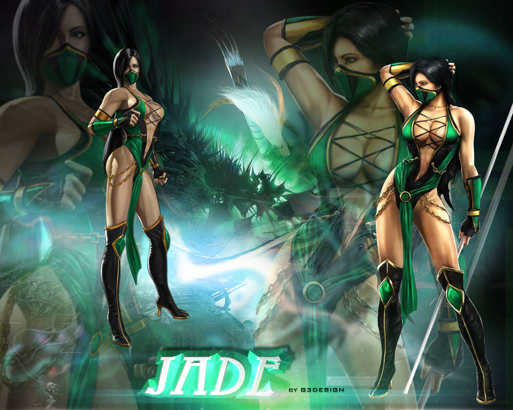 Wallpaper Jade Mortal Kombat By G3design Edrawer On Deviantart