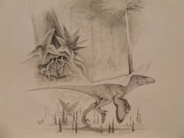 Deinonychus antirrhopus by T-PEKC