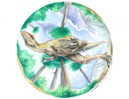 Allosaurus by T-PEKC