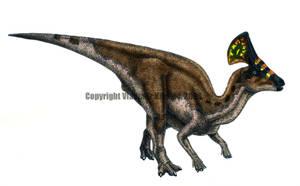 Olorotitan arharensis- colour by T-PEKC