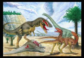 Jurassic Portugal by T-PEKC