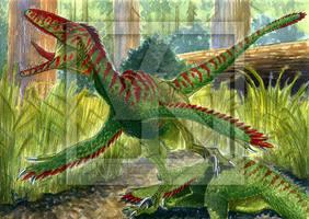 Deinonychus - Scarface by T-PEKC