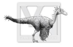 The putative Bulgarian ornithomimosaur by T-PEKC
