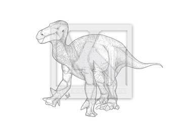 Iguanodon bernissartensis by T-PEKC