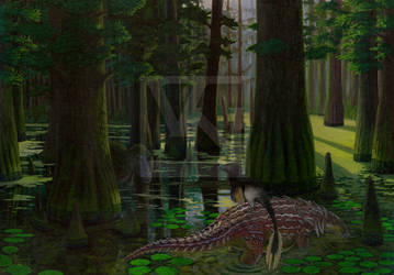 Encounters in the Cypress Swamp by T-PEKC