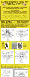 pixel art tutorial: drawing and colouring a sprite by monteGlover