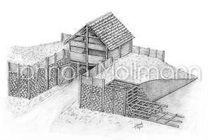 2014 Murus Gallicus - Gallic Wall by crumpled
