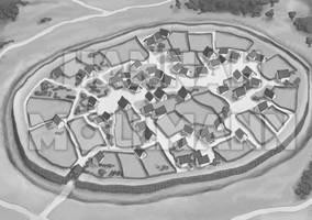 2014 - Gaulish Village by crumpled