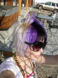 purple hair series 5 by MalletGirlStock