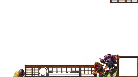 Dragontrainer Tristana HUD Stream Overlay. by Analy-Aranda