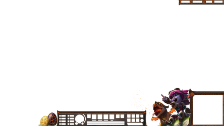 Dragontrainer Tristana overlay DOWNSCALE TO 30 HUD by Analy-Aranda