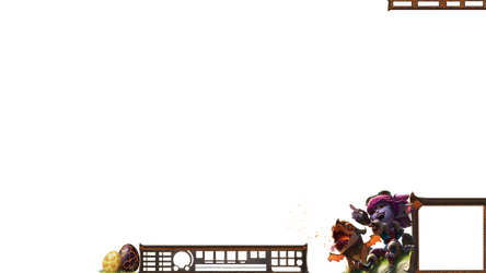 Dragontrainer Tristana overlay DOWNSCALE TO 0 HUD by Analy-Aranda