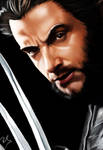 Wolverine_Hugh Jackman_Digital by Ricgar