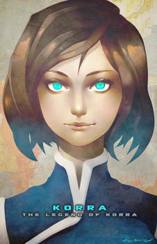 Korra from The Legend of Korra by Rousteinire