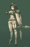 FFVII - Kisaragi Yuffie by Rousteinire