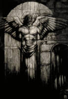 Angel in the Subway by JUA