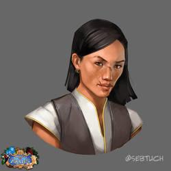 Female Pirate by sebtuch