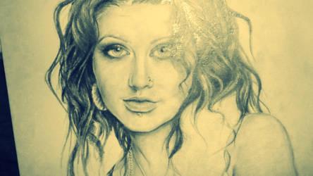 Christina Aguilera.) by TatyanaChugunova