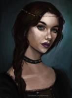 Portrait study #1 by TatyanaChugunova